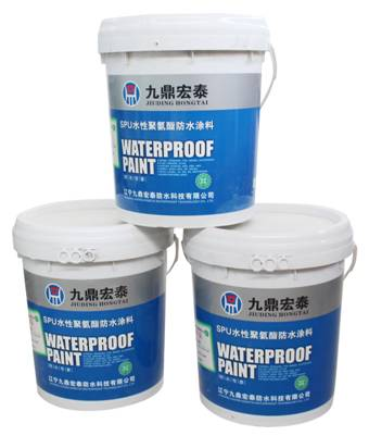 JD-123 SPU Waterborne polyurethane waterproofing coating