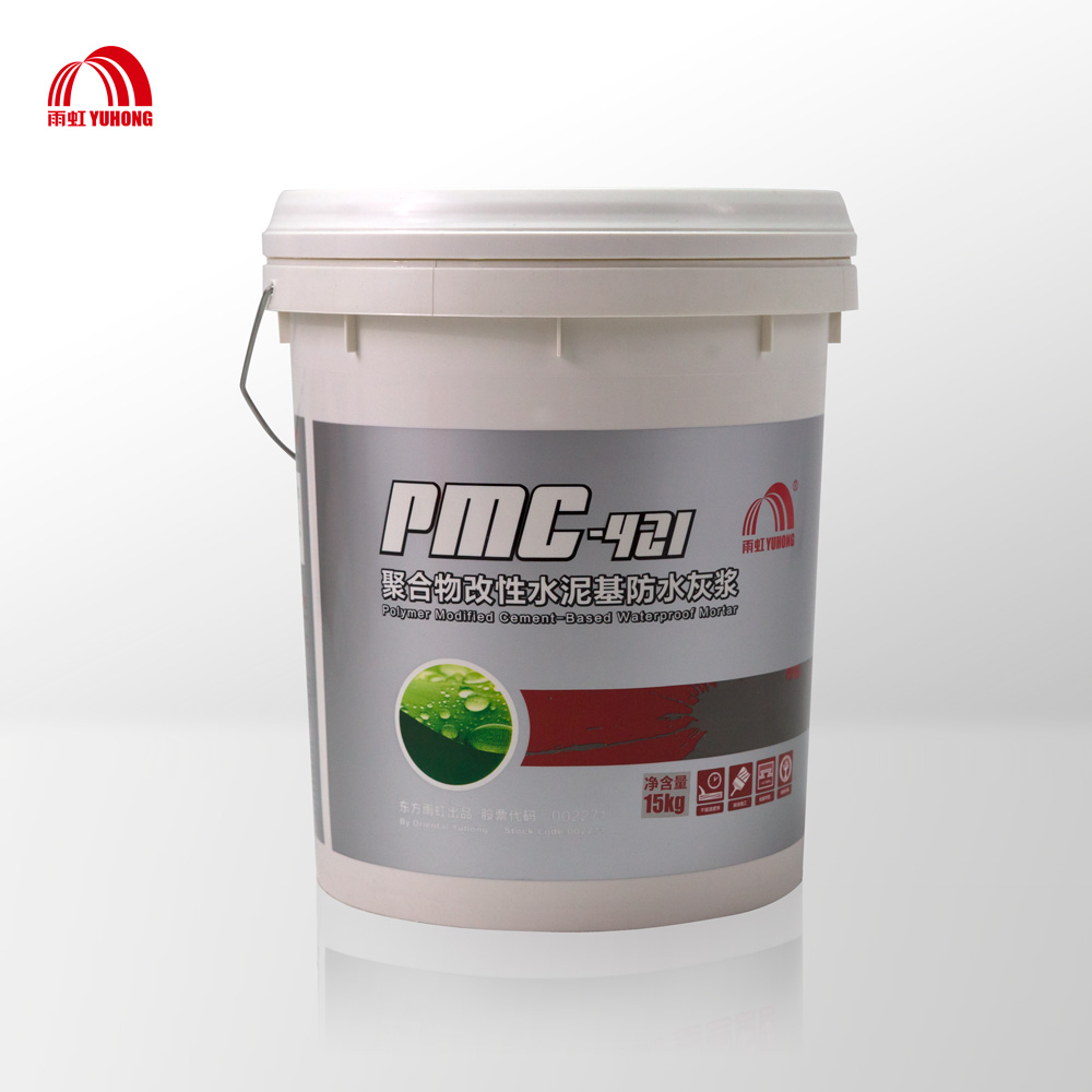 Polymer modified cement waterproofing mortar rigid