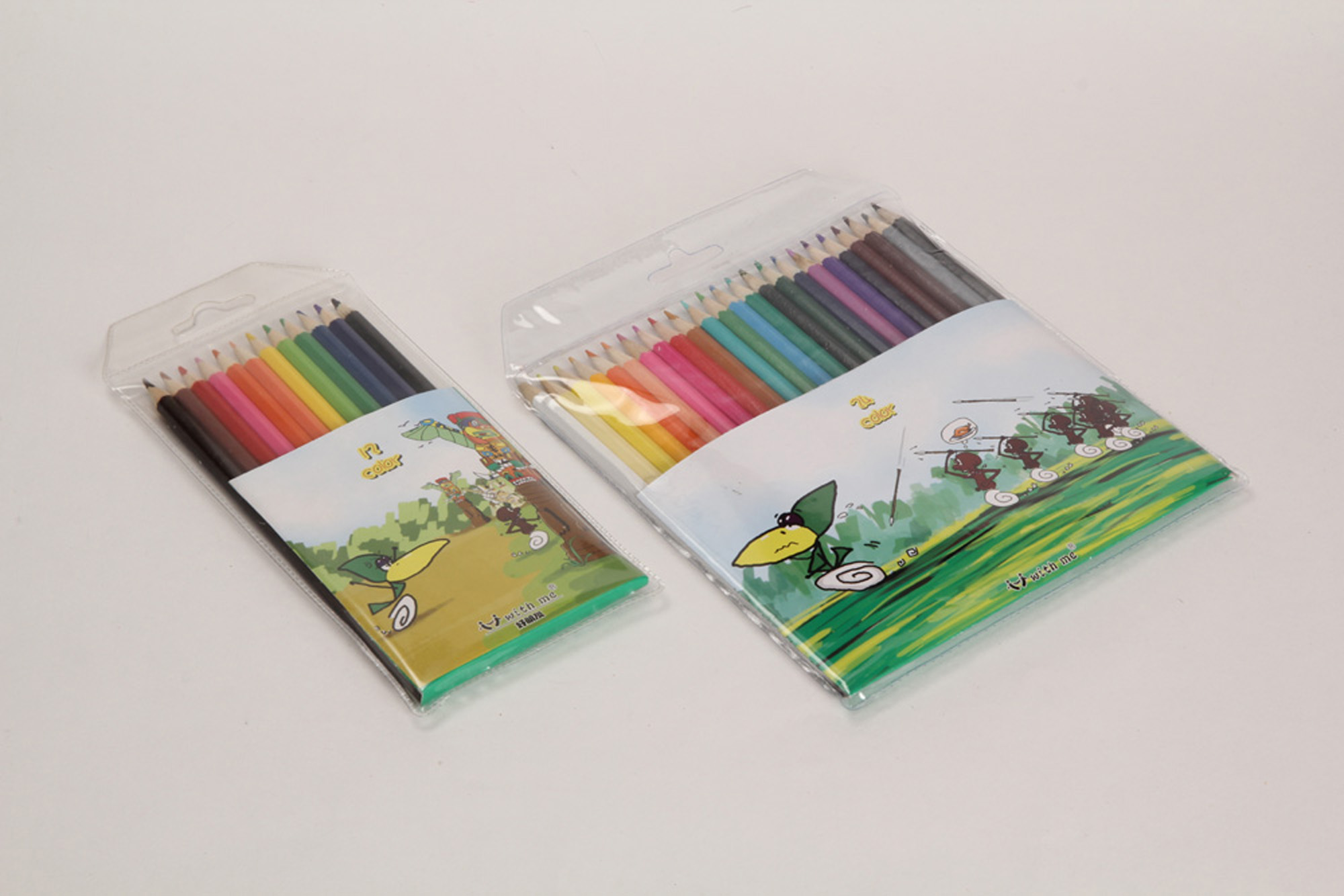 wooden color pencils, color pencil sets