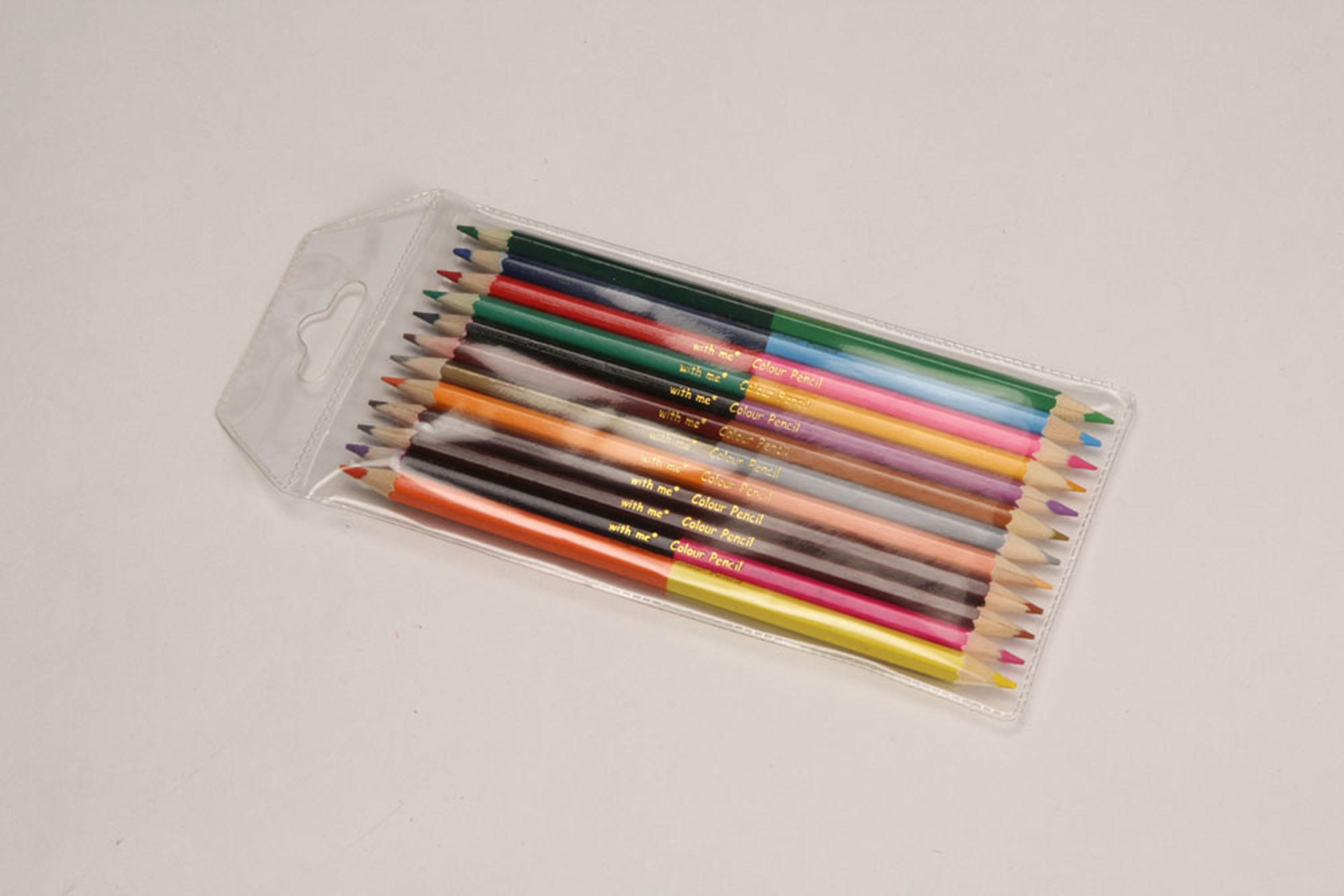 Bi-color pencils