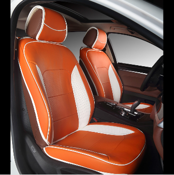Car Seat Covers All Surrounded, Surrounded By All The Pure Color And Splicing Two Seat Cover