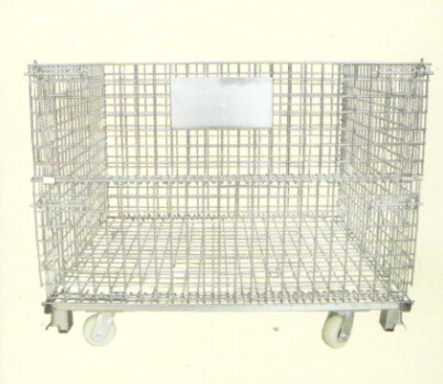 folding wire mesh basket (L-2)