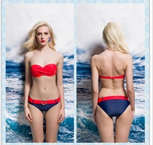 OEM service bandeau Hollow out hot bikini