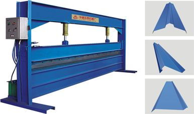 roof tile bending machine