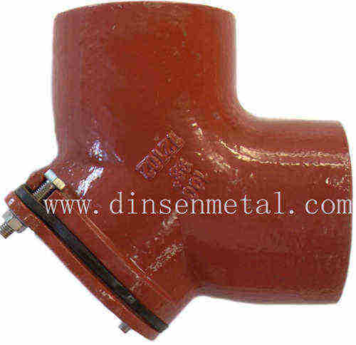 EN877 epoxy powder paint cast iron drain pipe fittings