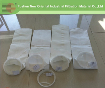 Thermally welded pocket filter bags