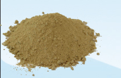 Powereddrefractory material