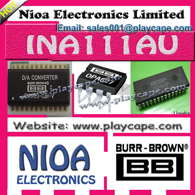 BURR-BROWN IC - INA111AU - IN STOCK