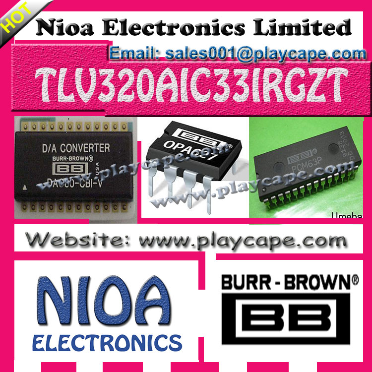 BURR-BROWN IC - TLV320AIC33IRGZT - IN STOCK