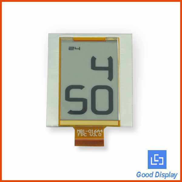 E-ink technology custom low power segment digital flexible epaper display