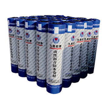 Special atactic polypropylene modified bituminous waterproof membrane for roads and bridges
