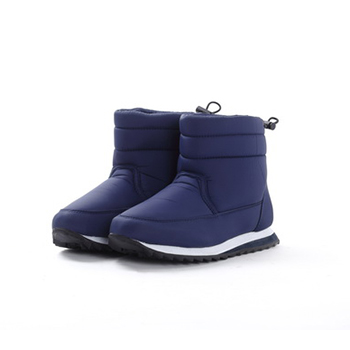 Nylon taffeta snow boots for winter