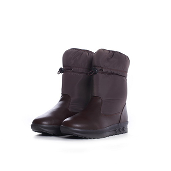 2015 fashion nylon taffeta snow boots