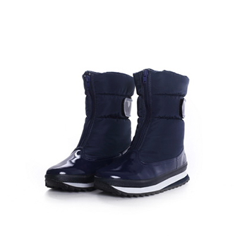 2015 Hot sales fashion nylon taffeta snow boots