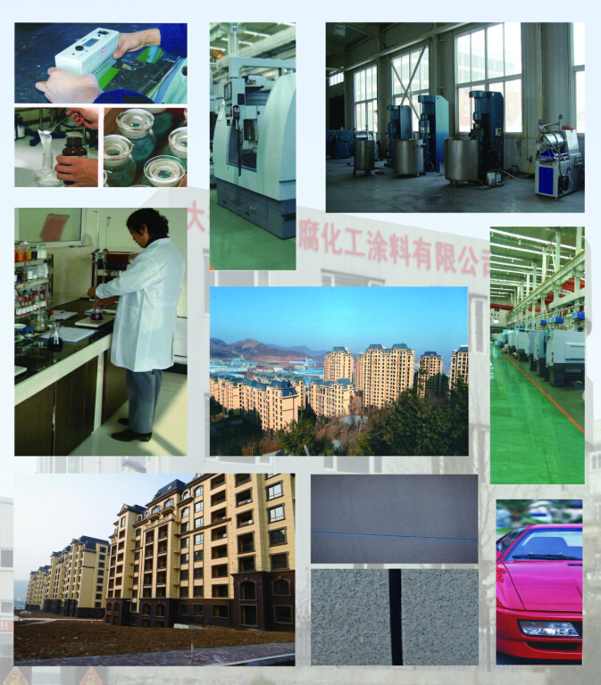Perchlorovinyl Finish Paint for Internal Cavity in Different Colors