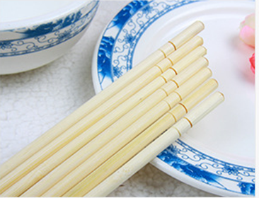 Round bamboo chopsticks