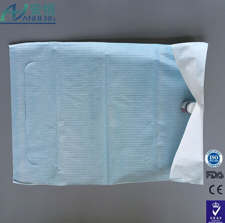 Disposable adult dental bibs