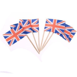 Wholesale paper mini cheap toothpick flag