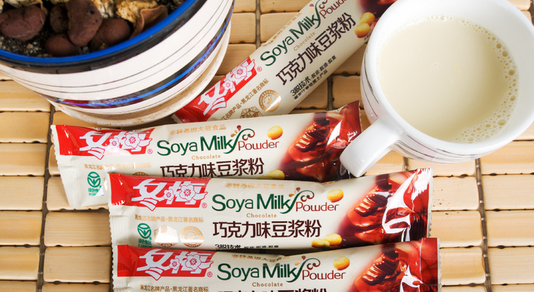 Chocolate flavour soy milk powder 30g soy milk powder
