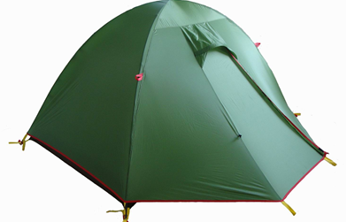 Cheap nylon camping tent hot sale