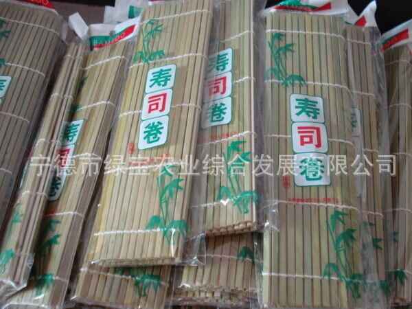 High quality and healty bamboo sushi rolling shutter