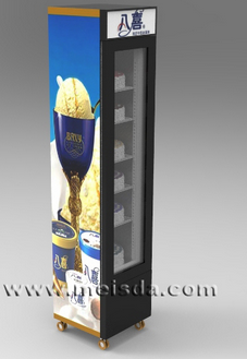 Ice Cream Display Refrigerator, Ice Cream Display Fridge