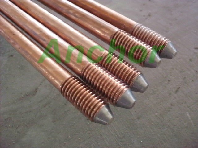 UL listed copper clad steel earth rod