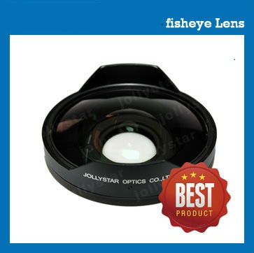 72mm 0.6X fisheye lens180 degreefor camcorder