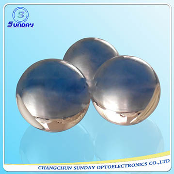 Optical glass ball lenses,half ball lens,bk7,fused silica,sapphire,caf2,znse