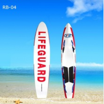 RB-04 High quality stand up paddle rescue board, surf rescue board, rescuing board