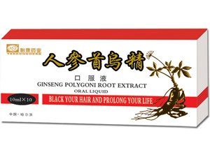 Ginseng Polygoni Root Extract oral liquid