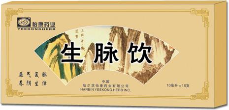 Sheng Mai Yin oral liquid -- natural health food