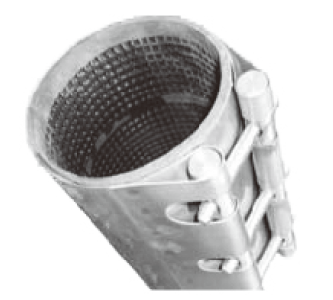 stainless steel Pipeline repair device manufacture