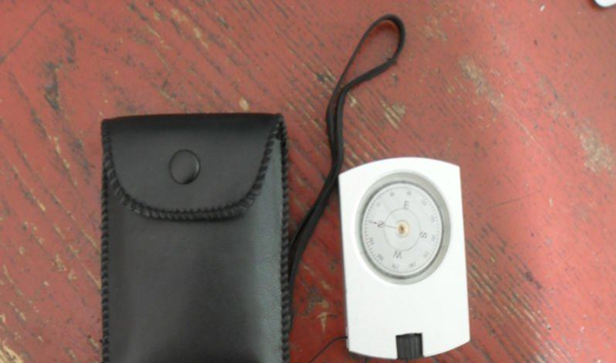 Altimeter/lensatic alitimeter