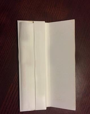 customer Kingsize slim white paper hemp paper rolling paper