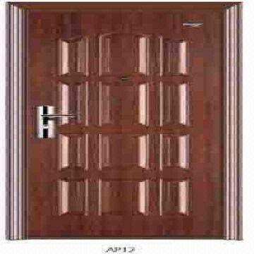 Security door With C-laminated steel.