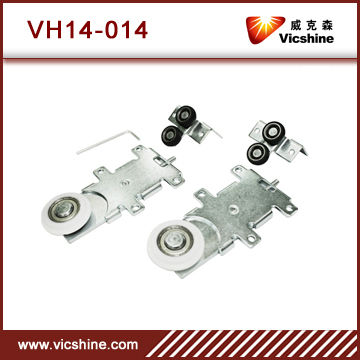 Furniture sliding door roller fitting VH14-014