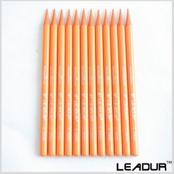 Orange color pencil customized