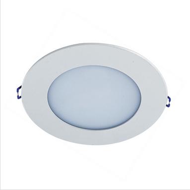 recessed circular ultrathin 200mm led panel light 6500K