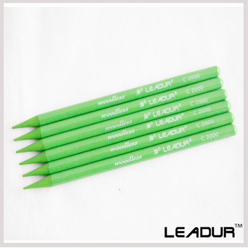 Green color pencil customized