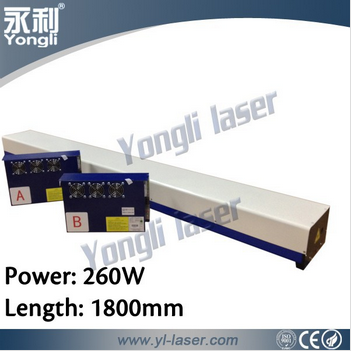 Yongli CE 260W laser module 260W for cutting thick materials