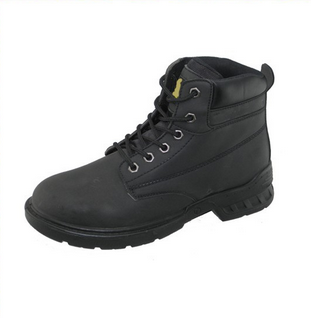 PU nubuck and PU sole Miller steel brand work men safety boots factory