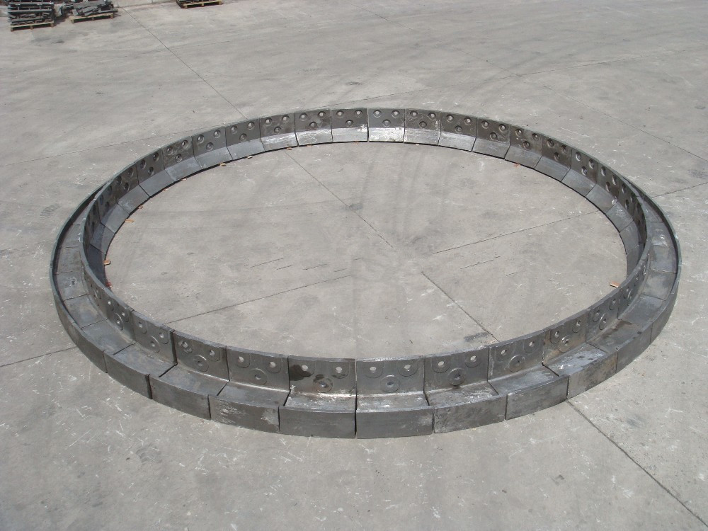Protecting cast of kiln's entry alloy steel casting