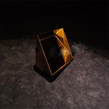 5mm glass right Angle prism,40/20 CNC polishing