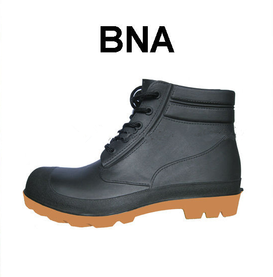 Waterproof and chemical resistant Cheap Ankle PVC safety boots
