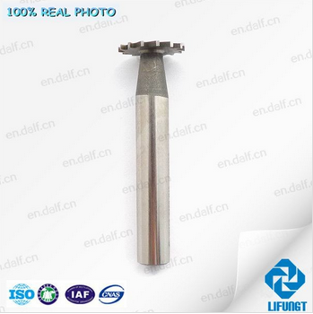 aviation parts high speed steel T-slot milling cutter