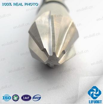 Morse taper shank chamfer milling cutter