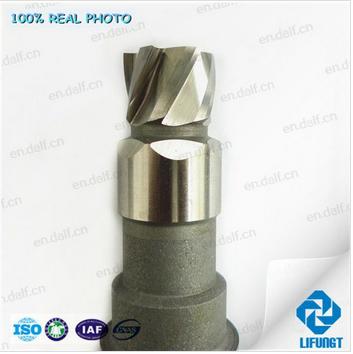 Special custom made carbide morse taper shank CNC square milling cutter