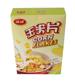 Instant Halal Food Health Snack Baked Corn Flakes Boxed Breakfast Cereal