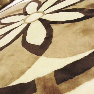 2015 popular Australia sheepskin blanket,